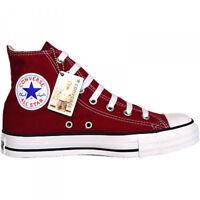 CONVERSE CHUCKS All Star EU 44 UK 10 Maroon Weinrot Bordaux M9613 Sneaker Rot