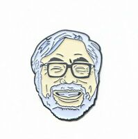 Japanese Hayao Miyazaki Lapel Pin Brooch Cartoon Fans Badge Jewelry Collection