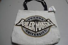 "USA Made Tote Purdue University Boiler Makers 17"" x 17"" Manual Woodworkers #453Z"