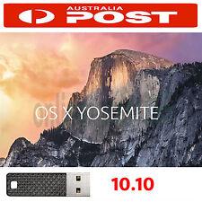 "Mac OSX Yosemite 10.10.5 Installer Recovery USB Macbook Pro Air 11"" 13"" 15"" 17"""