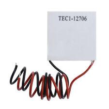 12V TEC1-12706 Heatsink Thermoelectric Cooler Cooling Peltier Plate Module 60W