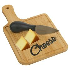 Wooden Cheese Board With Cheese Knife Serving Platter Serving Platter Set Gift