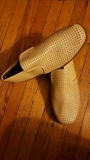 HASBAND MENS TAN SOFT MESH FRONT SHOE SIZE 11 BRAND NEW