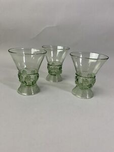"Juliska Isabella Green 3 1/2"" Wine/Cordial Glass"