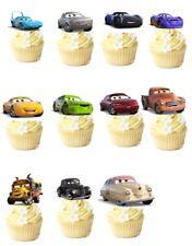 11x Disney Cars 3 Lightening McQueen EDIBLE CUPCAKE TOPPER STAND UP PRE - CUT