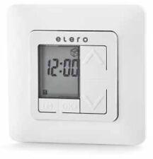 Elero TimeTec, Tages- Wochenzeitschaltuhr ✓ in Cremweiß