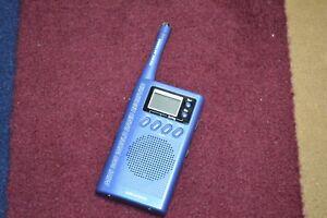 Grundig Mini 300 World Band Radio Receiver AM/FM Short Wave Digital Frequency