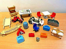 PLAYMOBIL Furniture Vehicles & Accessories Bundle