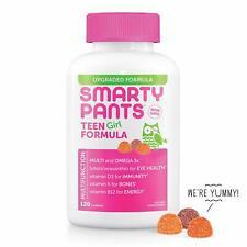 Smarty Pants Teen Girl Complete 120 gummies , Exp 08/2020