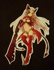 Queen's Blade Queen Aldra Sticker Sexy