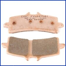 EBC plaquettes de freins fa447hh Essieu Avant Ducati 1100 s streetfighter (1099cc) 09-10