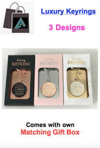 ✅ *Luxury Keyring in Matching Gift Box - 3 DESIGNS - Ideal for *CHRISTMAS* ✅