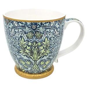 William Morris Snakeshead Large Fine China Breakfast Tea Coffee Mug Floral Gift