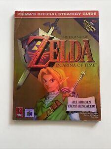 Nintendo N64 - Legend Of Zelda: Ocarina Of Time - Prima Strategy Guide - VGC