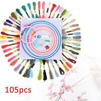 Arbitrary pattern Stitch Set Embroidery  Kit Craft DIY Tools Cross Stitch 105set