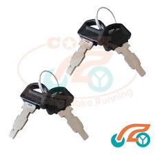2 set Ignition Switch Box Key For Honda GX160 GX200 GX240 GX270 GX340 GX390 168F