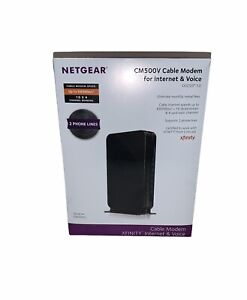 Netgear® CM500V 16x4 DOCSIS 3.0 680Mbps High Speed Cable Modem w/ 2 lines