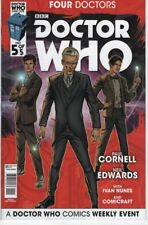 Doctor Who Four Doctors #5 War 9th 10th 11th 12th Doctor comic book TV show
