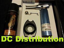 Vector Nitro Torch KGM Metallic Blue + Free Lighter Stand + Free Butane 3.6 floz