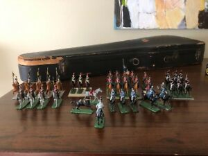 toy soldiers wargame 30mm Scruby like Napoleonic hussars dragoons lancers 35 fig