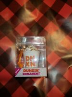 Dunkin Donuts Latte Cup 2020 Rare Coffee Ornament Limited Edition New