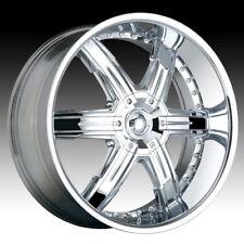 DIP D92 26x9.5; 5x120.65 Chrome Wheels Rims