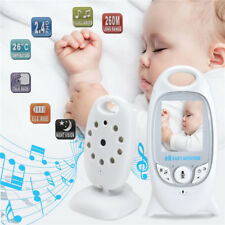 """2"""" LCD Baby Monitor 2.4GHz Color Audio Talk Night Vision Wireless Digital Video"""