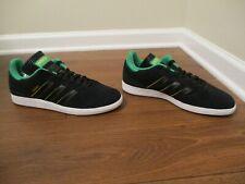 BNIB Size 12 Adidas Busenitz Shoes Black Green Gold White