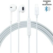 Bluetooth Lightning Earphone Headphones with Microphone and Remote for iPhone