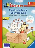 Leserabe 1. Klasse Eine kunterbunte Überraschung Ravensburger +BONUS