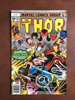 Thor #271 (1978) 8.5 VF Marvel Bronze Age Comic Book Newsstand Edition Avengers
