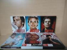 DEXTER SEASONS 1-6 - 4 DISCS EACH - REGION 4 DVD