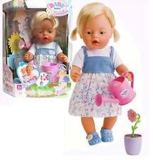 Orig.Zapf >>> Baby Born Bambina Puppe mit magischer Blume <<< 43 cm