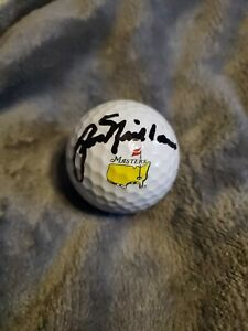 Jack Nicklaus Signed Autographed 2020 Masters Golf Ball Augusta  6x Winner flag