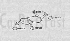 Exhaust Middle Box Nissan Terrano II 2.4 Petrol ATV/SUV 07/1996 to 12/1999