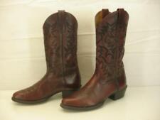 Men's sz 9.5 D M Ariat Western Boots Legend Phoenix Oxblood Leather 34763 Cowboy