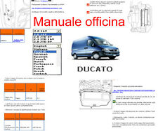 MANUALE OFFICINA Fiat Ducato x 244 WORKSHOP MANUAL SERVICE SOFTWARE ELEARN