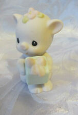 Precious Moments Enesco Porcelain Figure Collectible Oinky Birthday Pig
