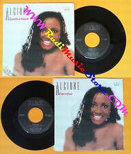 LP 45 7'' ALCIONE Quem e voce Forrogiar 1985 italy RCA PB 40103 no cd mc dvd