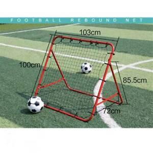 Fußball Rebounder Kickback einstellbar Trainingsnetz 100*100CM Ballsportarten