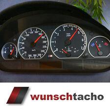 Tachoscheibe für Tacho BMW E46 Benziner M3 Optik ohne Tachojustierung