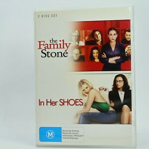 The Family Stone / In her Shoes 2 Movie Pack DVD GC Free Tracked Post
