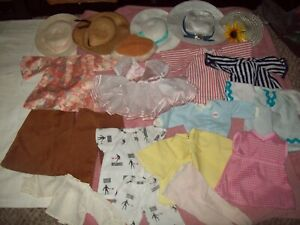 vtg Fisher Price Knickerbocker My Friend Mandy Doll Clothes & Hats