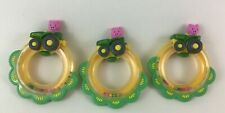 John Deere Baby Toys Rattle Rings Pig Tractor Tomy 3pc Lot