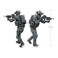 1/35 Scale Modern American Elite Special Forces Figure Model Resin Kit Unpainted