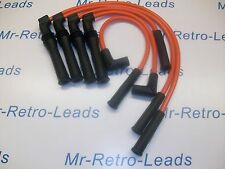 ORANGE 8MM PERFORMANCE LEADS FOR. PEUGEOT 309 405 1.9 MI16 16V BX19 CITROEN 16V