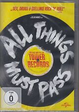 All Things Must Pass: The Rise and Fall of Tower Records(DVD, NEU!)