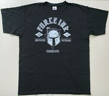 "FORCE INK HANNOVER ""2014"" T-shirt Tattoo Convention Gr.XL **SEHR GUTER ZUSTAND**"