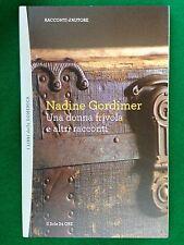 Nadine GORDIMER - UNA DONNA FRIVOLA , Racconti d'Autore 24 - il Sole 24 ore