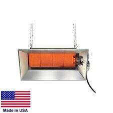 HEATER - Commercial - Ceramic Infrared - LP Propane - Aluminum Stl  104,000 BTU
